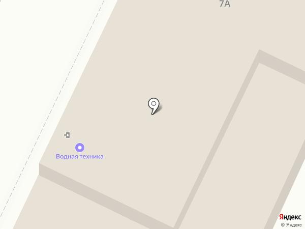 Водная техника на карте Иваново