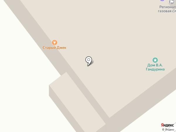 Магистр на карте Иваново