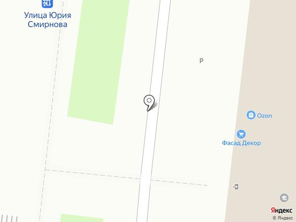 Техстрой на карте Костромы