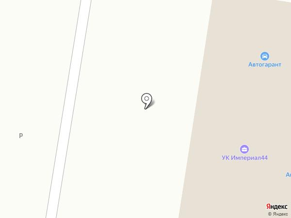 Автогарант на карте Костромы