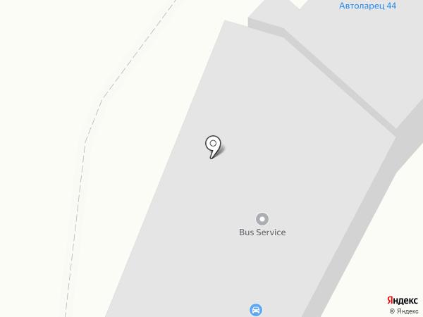 Автосервис К4А на карте Костромы