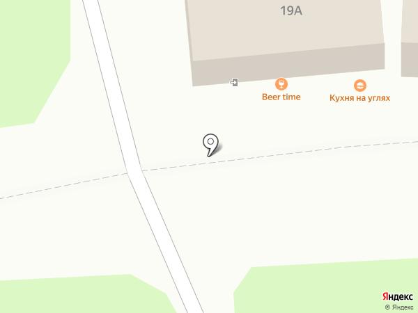Продлайн на карте Иваново