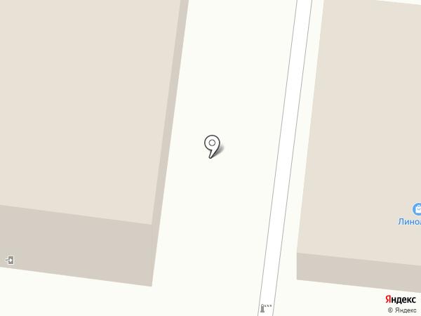 Линолеум на карте Костромы