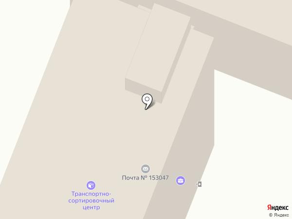 Почтовое отделение №41 на карте Иваново