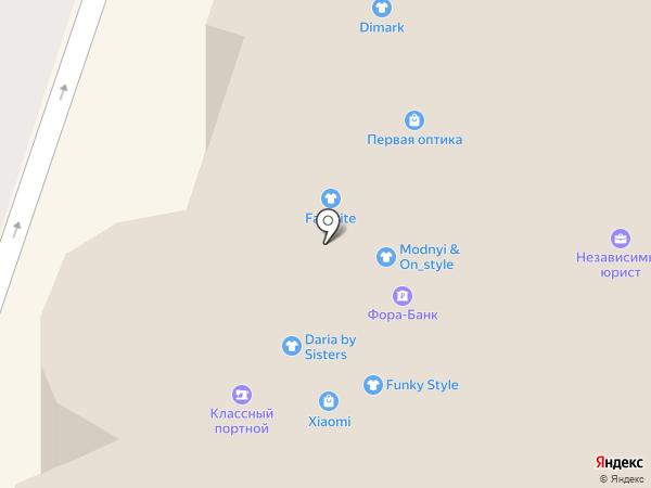 Веселый какаду на карте Иваново