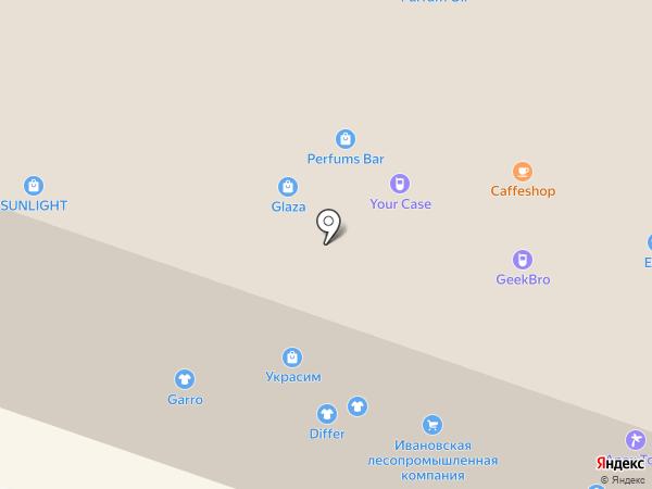 Магазин сувениров на карте Иваново