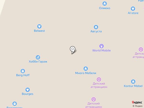 Магазин аксессуаров для мобильных телефонов на карте Иваново