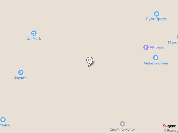 Много мебели на карте Иваново