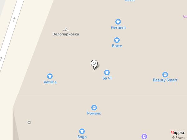 Стрелок на карте Иваново