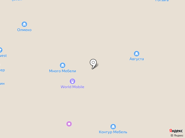 Августа на карте Иваново