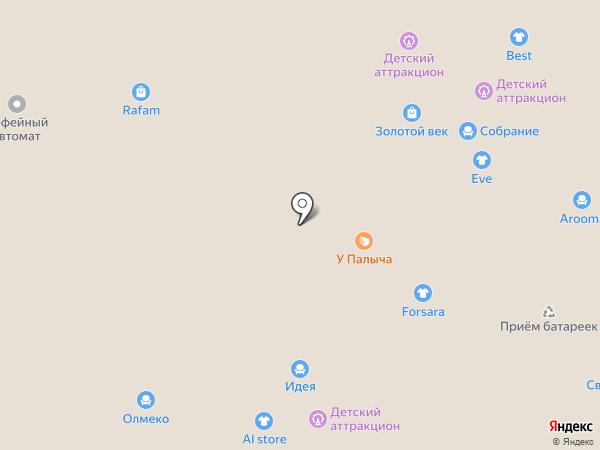 Боринское на карте Иваново