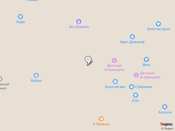 Ятаган на карте Иваново