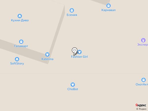 Indigo на карте Иваново