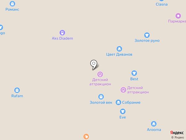 Ришелье на карте Иваново