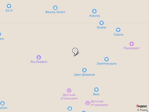 Clasna на карте Иваново
