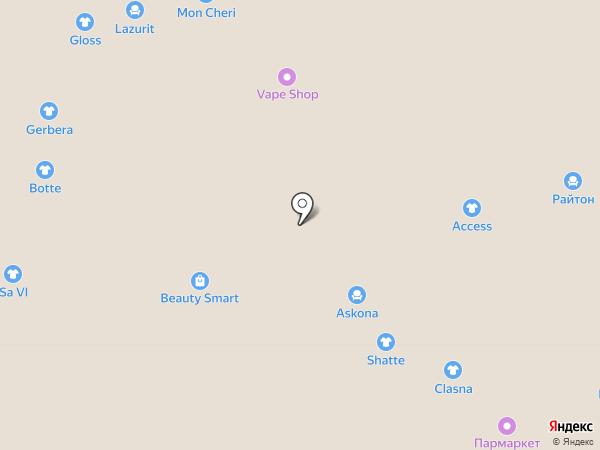 Райтон на карте Иваново