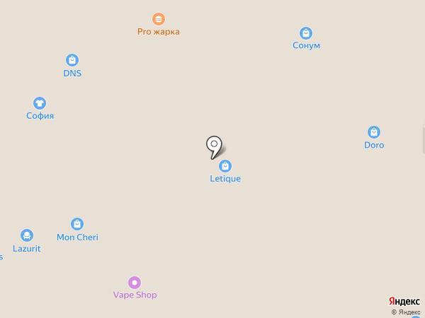 Мебель России 33 на карте Иваново