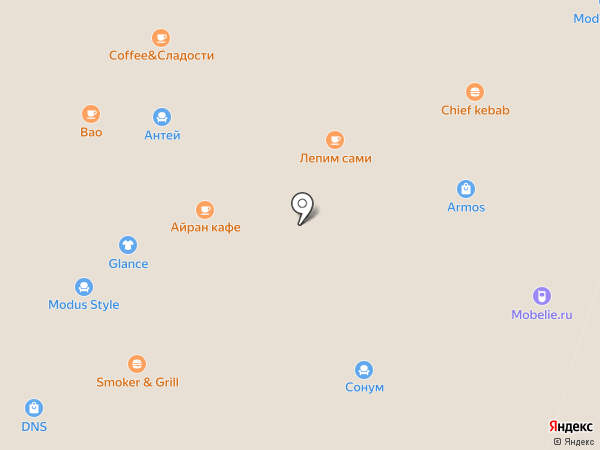 Лагуна на карте Иваново