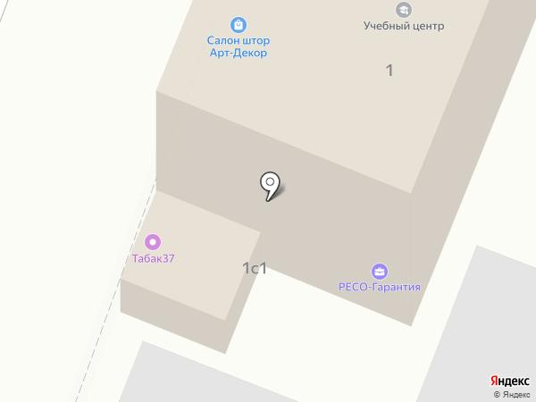 Ресо-Гарантия на карте Иваново