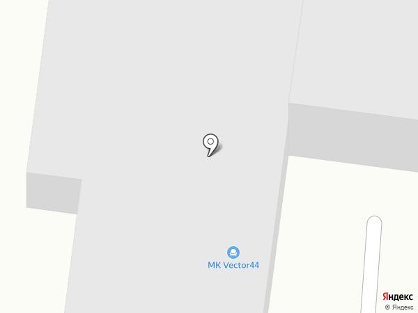 Vector44 на карте Костромы
