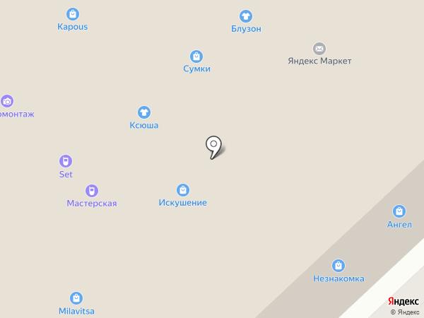 Серебряный дождь на карте Иваново