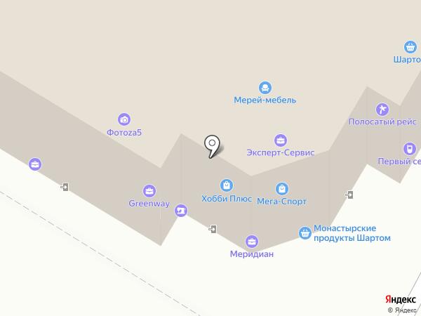 Карта Мира на карте Иваново