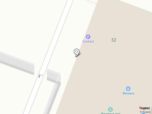 АКБ Кранбанк, ЗАО на карте Иваново