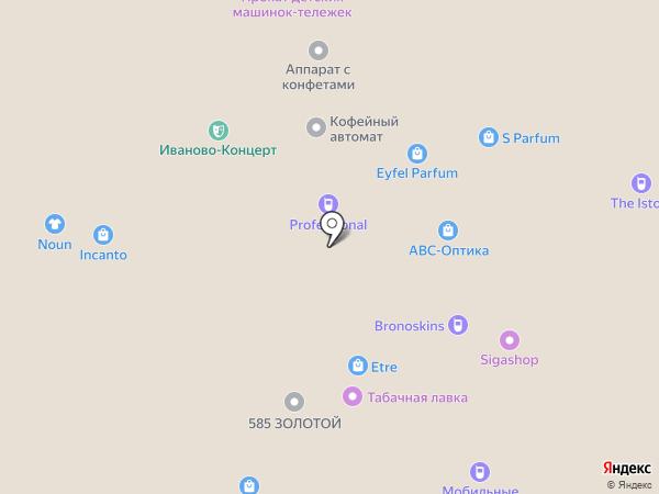 Мобильные штучки на карте Иваново