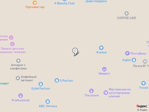 Мобильный Эверест на карте Иваново