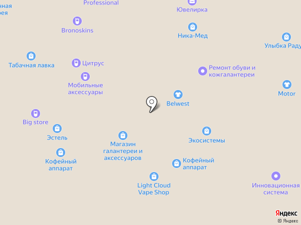 Экосистемы на карте Иваново