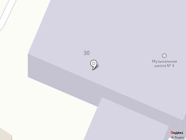 Детская музыкальная школа №4 на карте Иваново