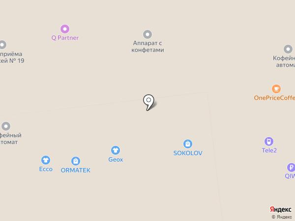 Теплая овечка на карте Иваново
