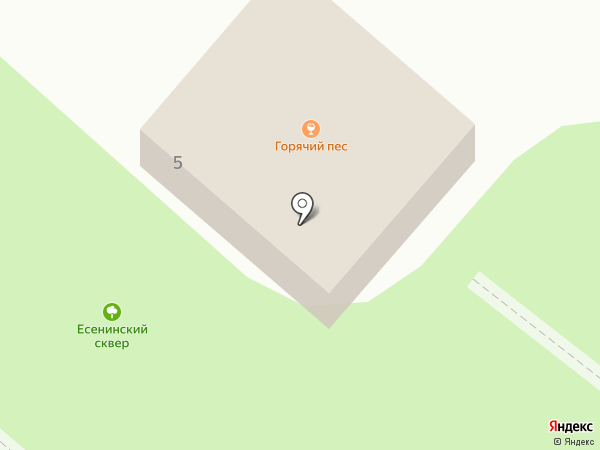 Горячий пес на карте Иваново