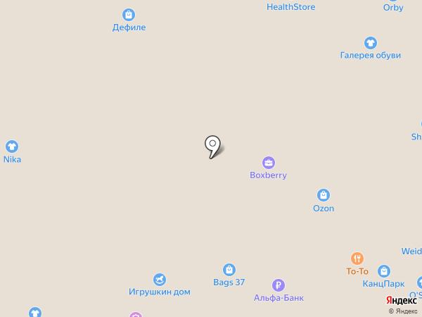 Weider СПОРТ на карте Иваново