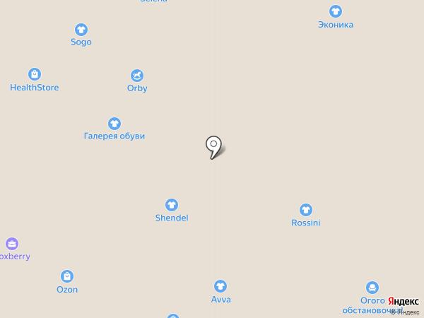 Лапоток на карте Иваново