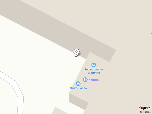Дикон Авто на карте Иваново