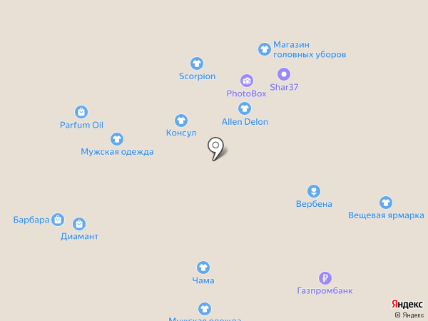 Банкомат, Росгосстрах банк, ПАО на карте Иваново