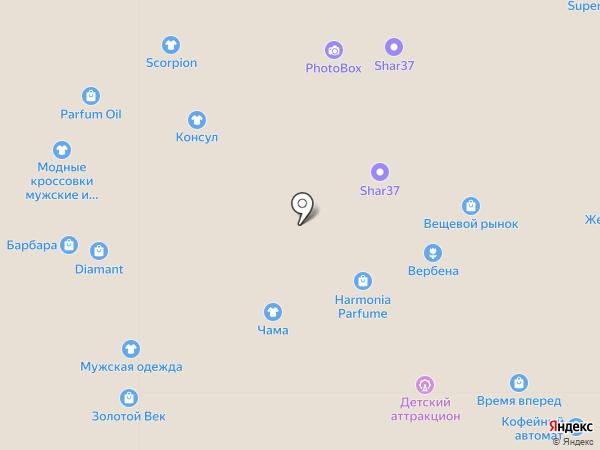Банкомат, Банк ВТБ 24, ПАО на карте Иваново