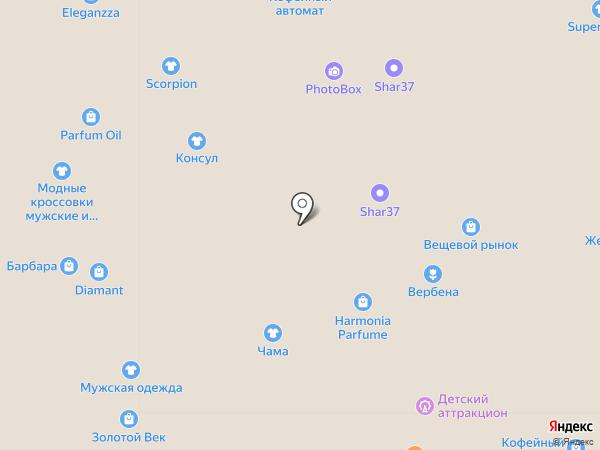 Банкомат, Райффайзенбанк на карте Иваново