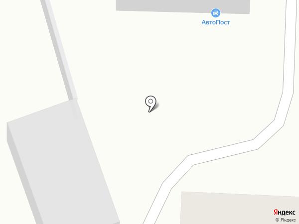Автопост на карте Иваново