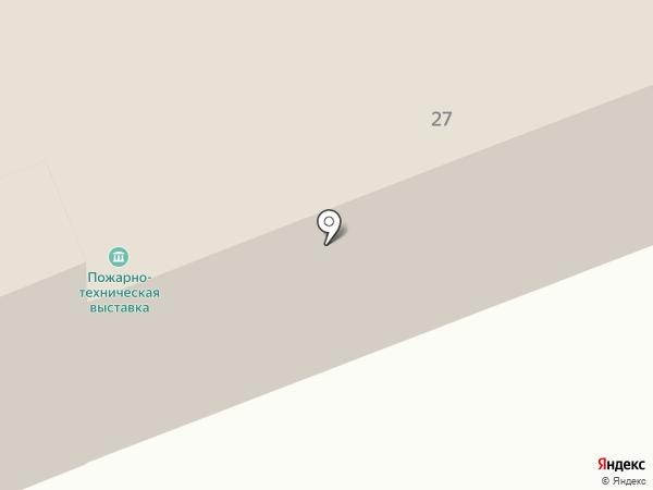 Специализированная часть по тушению крупных пожаров на карте Иваново