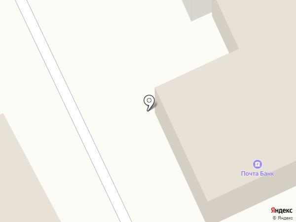 Отделение почтовой связи №12 на карте Костромы