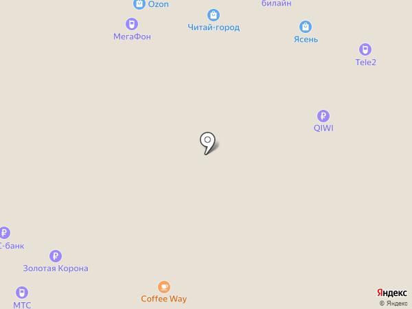 Рубин на карте Иваново