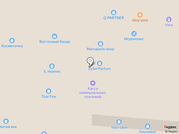 Золотой союз на карте Иваново