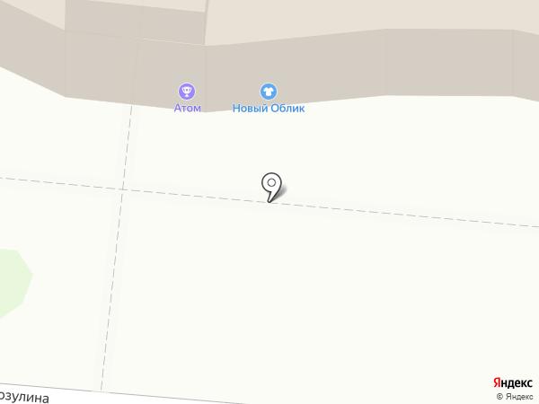 Матрица на карте Иваново