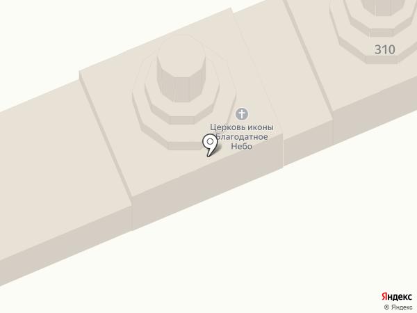Храм Иконы Божией Матери Благодатное небо на карте Иваново