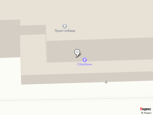 Пункт отбора на военную службу по контракту по Ивановской области на карте Иваново