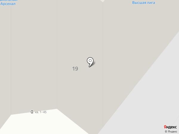 Школьный арсенал на карте Иваново