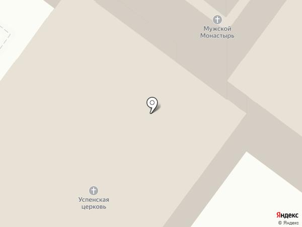 Свято-Успенский мужской монастырь на карте Иваново