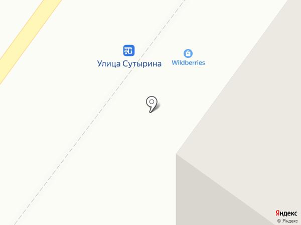 Бося на карте Костромы